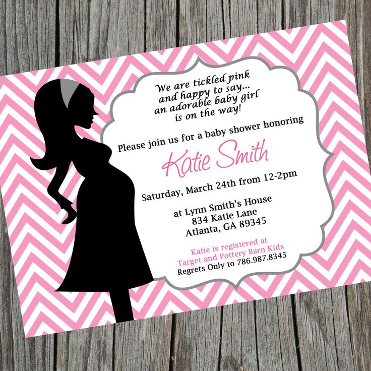 free printable camo baby shower invitations templates%0A Pink Chevron Baby Shower Invitation  Printable Baby by cohenlane