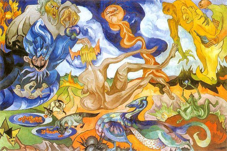Creation of the World | Stanislaw Ignacy Witkiewicz - 1921-1922