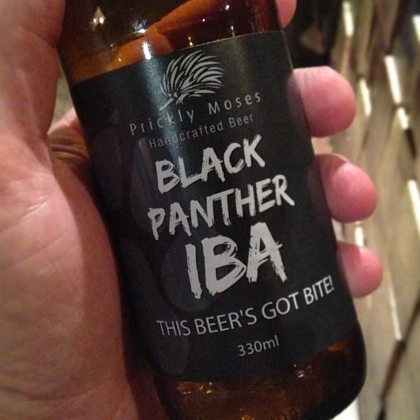 I've a panther in my belly. #pricklymoses #iba #goodbeer #goodbeerinhand #instabeer #beer #craftbeer