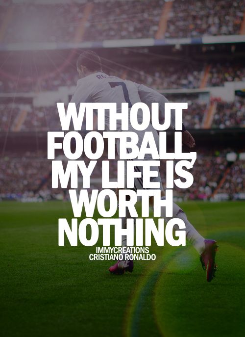 Best Football Quotes Fair 13 Best Football Images On Pinterest  Football Quotes Soccer And