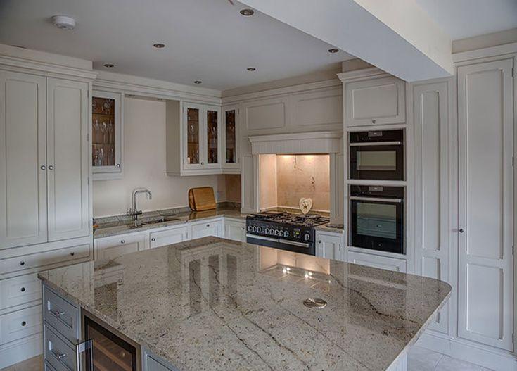 White Kitchen Light Worktop
