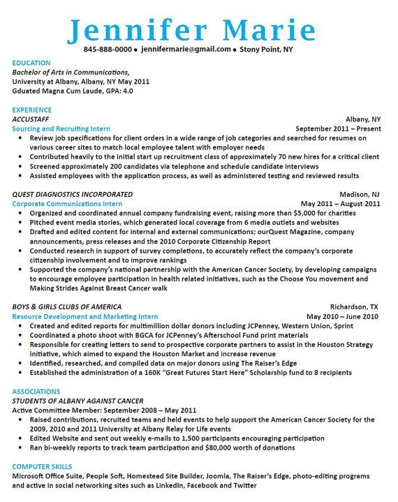 40 best Resume Writing and Design images on Pinterest Resume - bullet points resume