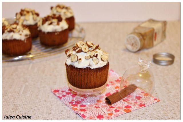 Julea Cuisine - Ma petite cuisine au quotidien: Banana Bread à la noisette version cupcake - THE t...