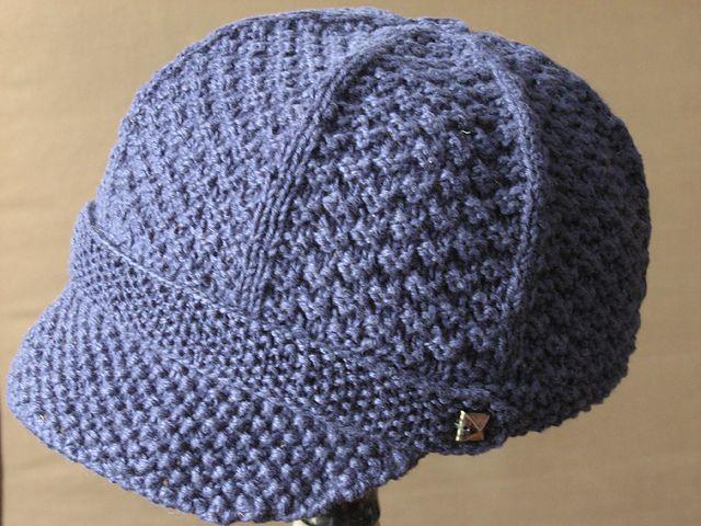 Knit Pattern Newsboy Cap | Newsboy hat pattern, Hat ...