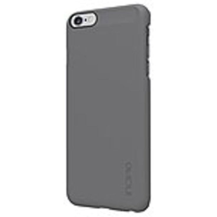 Incipio IPH-1193-GRY Feather Ultra Thin Snap-On Case - For iPhone 6 Plus - Gray - Plextonium, Polycarbonate, Ethylene Vinyl Acetate (EVA)