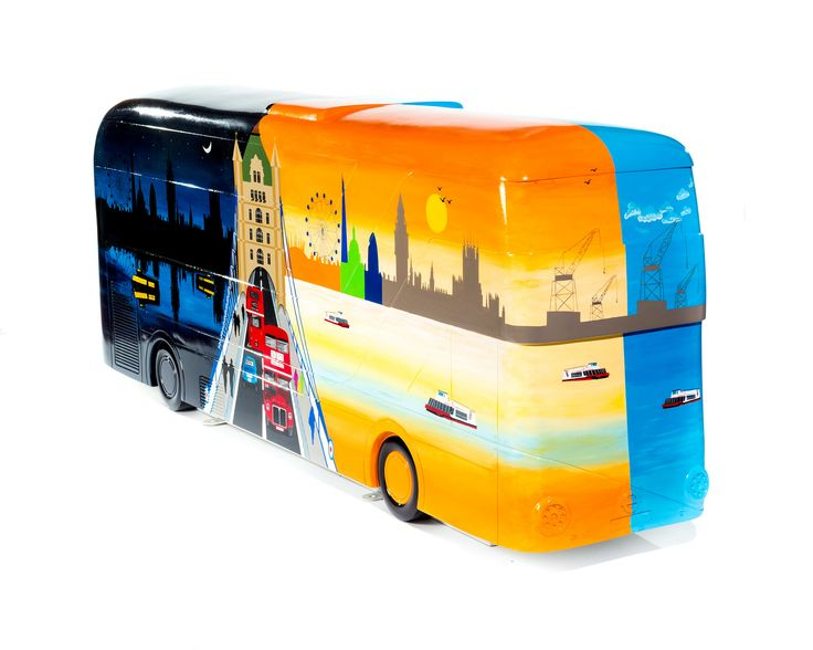 TfL Image - Year of the Bus Sculpture Trail
