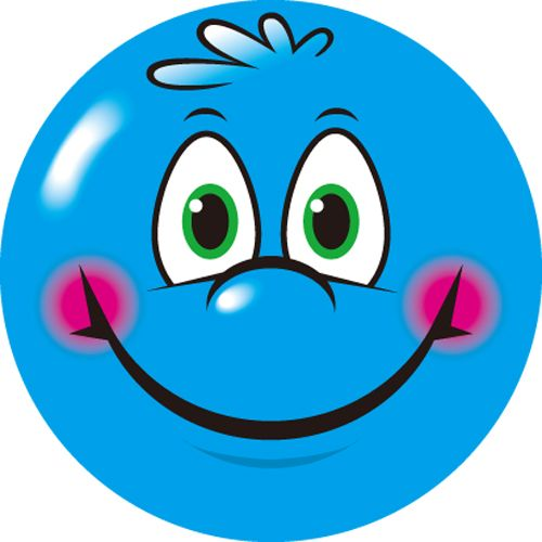logo quiz blue smiley face vector and clip art inspiration