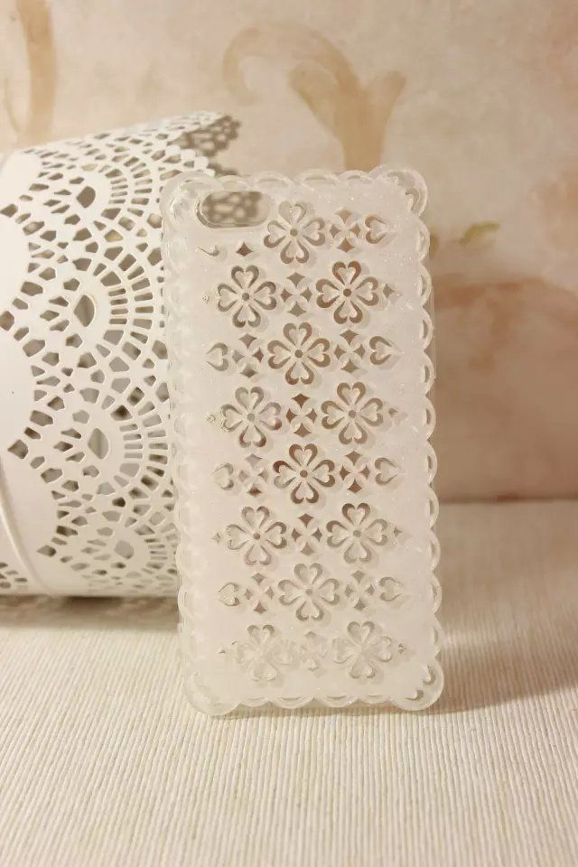 white summer  iphone case for iphone 6[inch4.7] and iphone6[inch5.5]