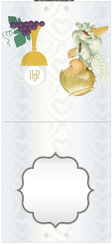 First communion template