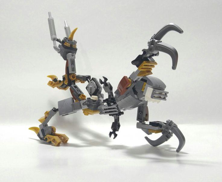 Lego Mixel Moc, Series 5, Xeno