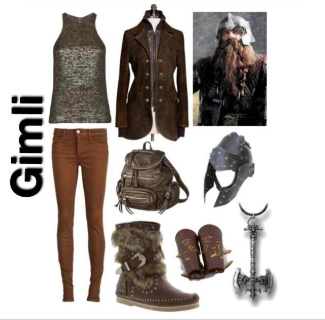 lord of the rings inspired outfit ~ gimli
