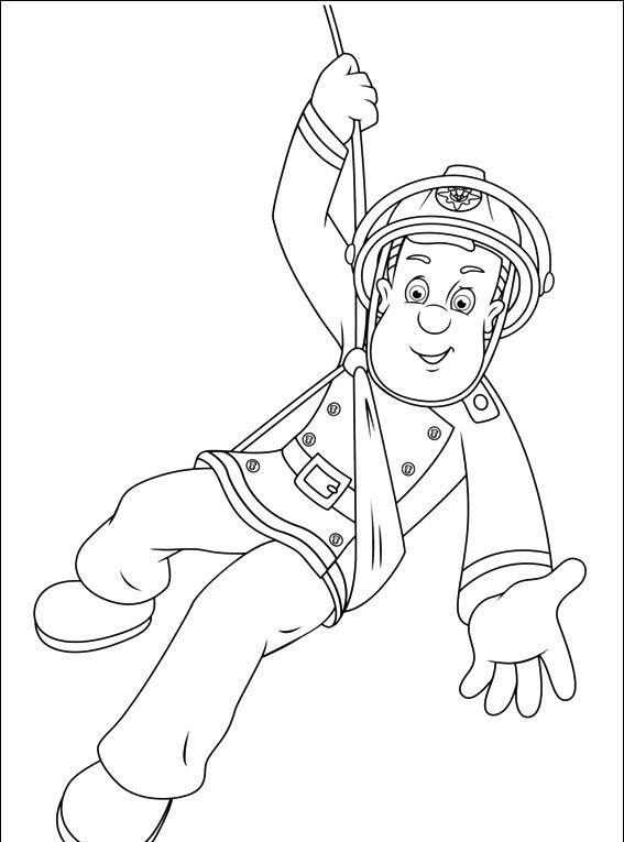 Strażak Sam #42 - Pokoloruj ulubione postacie z bajek na ubieranki.eu! http://www.ubieranki.eu/kolorowanki/1695/strazak-sam-_42.html