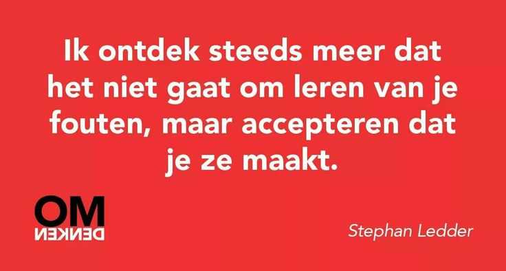 #Omdenken. Accepteren.