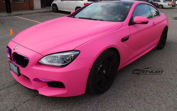 ReStyleIt-Pink-BMW-M6-Coupe-Folierung-matt-rosa-15
