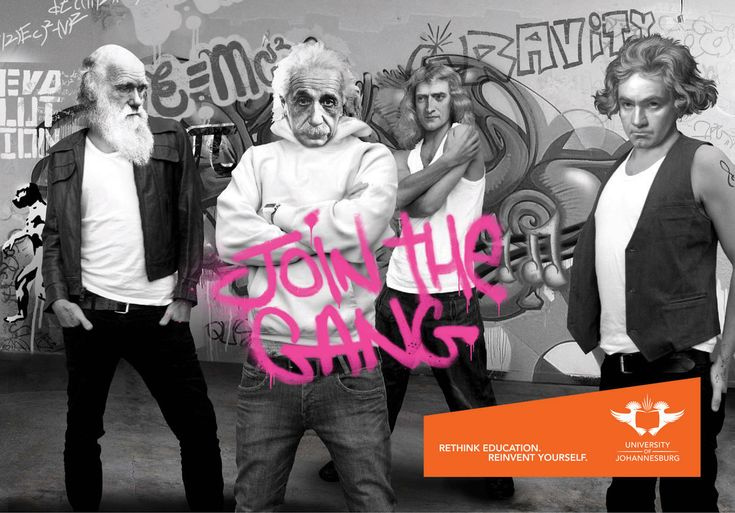 Join the Gang by Uni of Johannesburg
