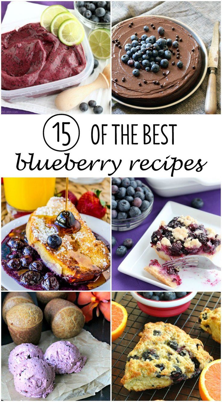 These 15 of the BEST blueberry recipes will have you savoring every bite!