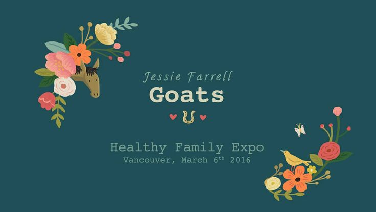 """Jessie Farrell - """"Goats"""" at the Healthy Family Expo on Vimeo @thegumbootkids @kidscbc"""