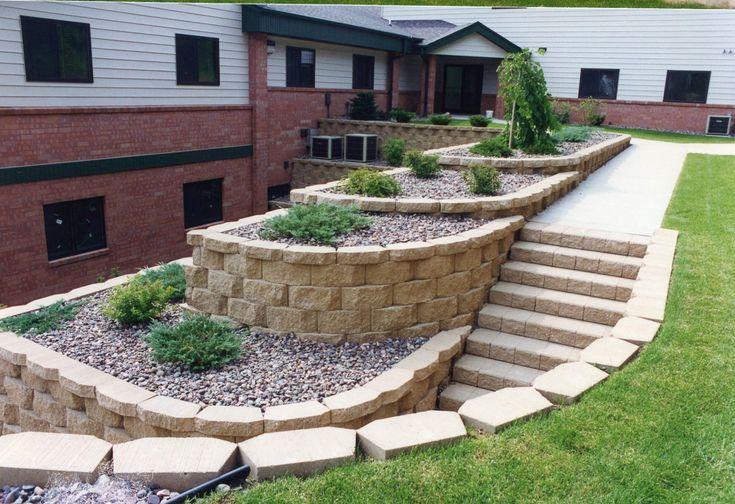Masonry Retaining Wall Design: Best 25+ Concrete Retaining Walls Ideas On Pinterest