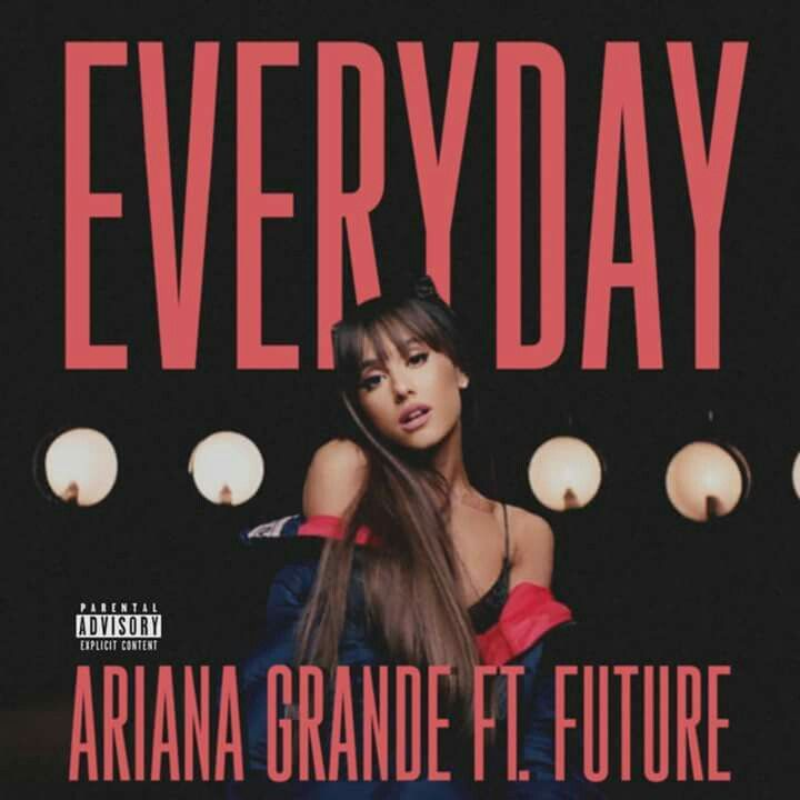 ariana grande everyday ft future single cover in 2019