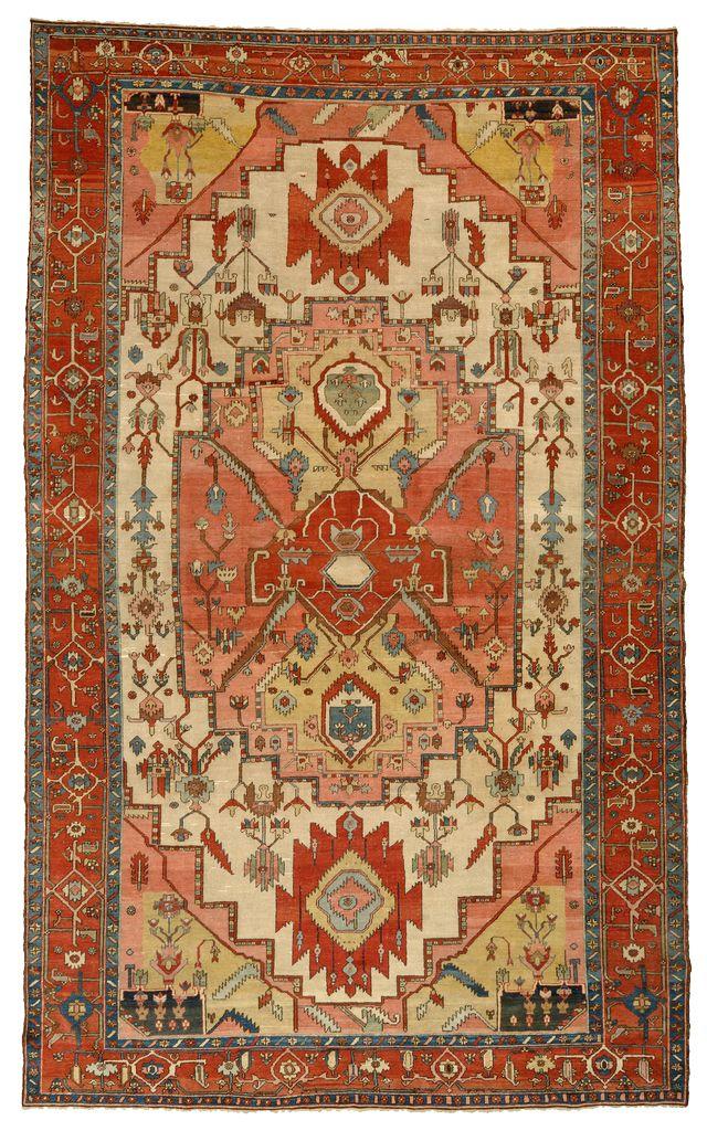 MOSHE TABIBNIA . Collezione . Tappeti, arazzi e tessuti d'alta epoca   Heriz , Persia Nord-occidentale XIX sec. , metà Tappeto annodato in lana 468 x 285 cm Inv. n.: 111097