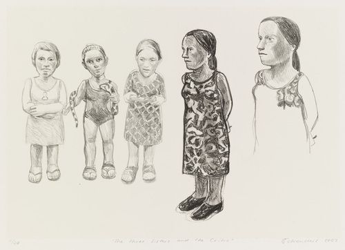 Claudette Schreuders. The Three Sisters and The Critic. 2002