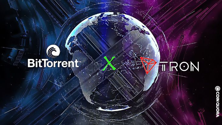 Pin By Coinquora On Altcoin News In 2021 Tron Bittorrent Product Launch