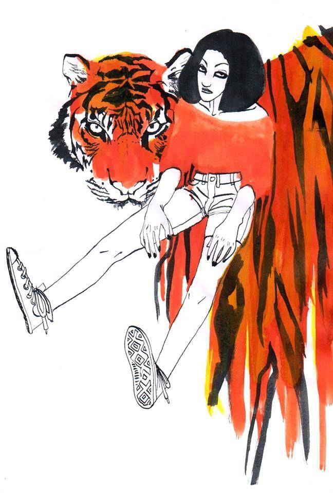 El Tigro y Chica.