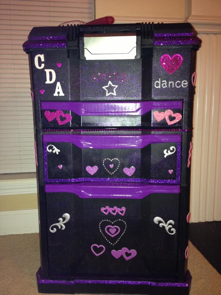 rolling dance tool box dance organizers pinterest
