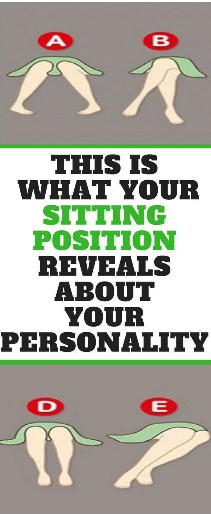 This Is What Your Sitting Position Reveals About Your Personality Fabulous Piece