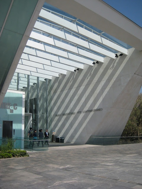 MuAC - ciudad universitaria - mexico city
