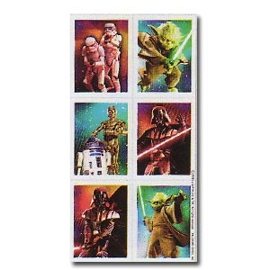 Star Wars Feel the Force Stickers (4 sheets/pkg)