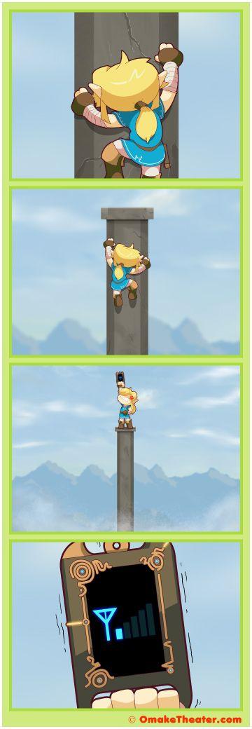 Zelda Breath of the Wild Humor