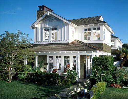 exterior: Beach House, Custom Homes, Exterior Design, Coastal Home, Exterior Painting Colors, Newport Beach, Traditional Exterior, White House, Front Porches