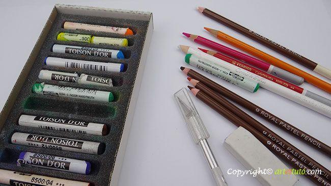 Apprendre Le Pastel Sec L Art Du Pastel Je Vous Resume Tout Sur