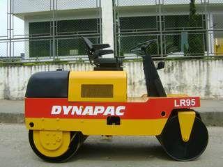 Rolo Compactador Dynapac LR95