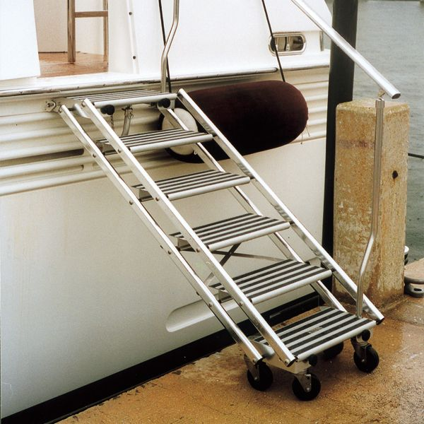 Tracy International Boarding Stairs In 2020 Flooring For Stairs Stairs Stainless Steel Casters
