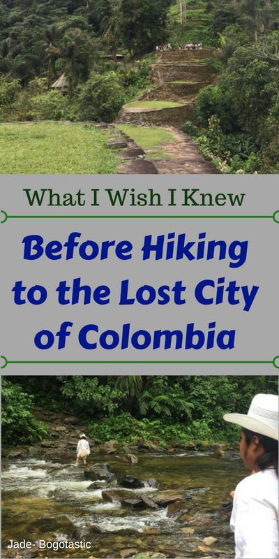 What you need to know before going to the Lost City, or Ciudad Perdida, in Colombia!