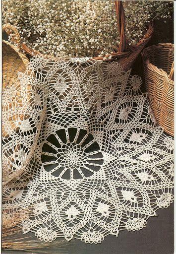 Crochet Decorativo July 1991 # 22 - Rosio Llamas - Álbuns da web do Picasa