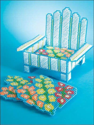 Summer Plastic Canvas Coasters Coasters Pinterest