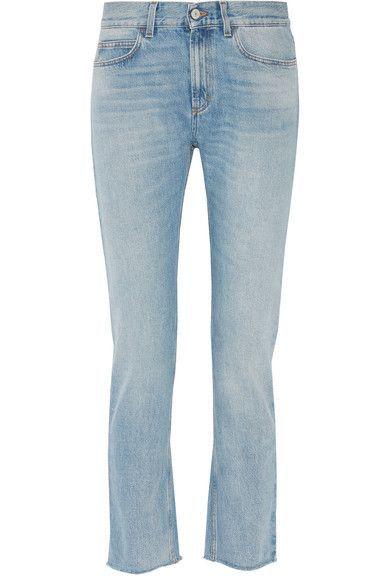 Gucci - Low-rise Bootcut Jeans - Light denim -