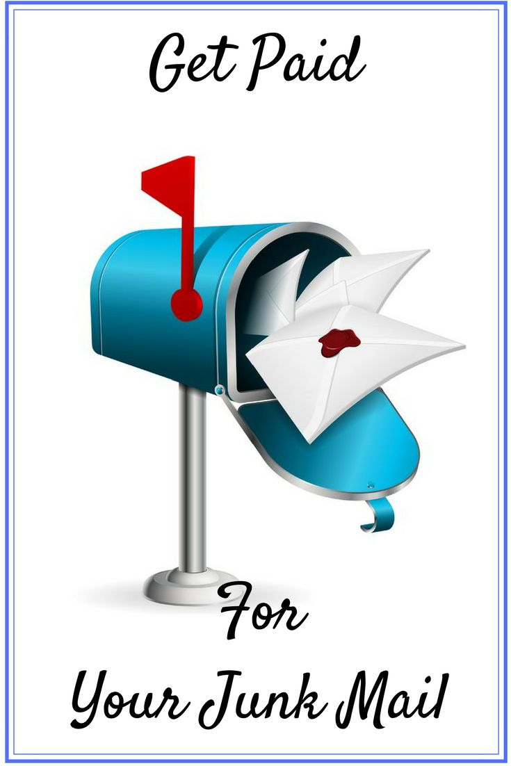 Find out what companies will pay you for your junk mail.