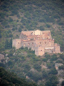 El Fort Libèria és una fortificació situat damunt del poble de Vilafranca de Conflent al cim del mont Belloc. Va ser construït per Sébastien Le Prestre de Vauban el 1681, després de la divisió de la Catalunya entre els regnes francès i espanyol pel Tractat dels Pirineus. El fort s'enllaça al poble de Vilafranca per una escala subterrània de 734 esglaons.