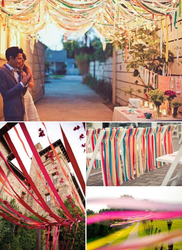 Originele ideeën voor de aankleding van jullie bruiloft