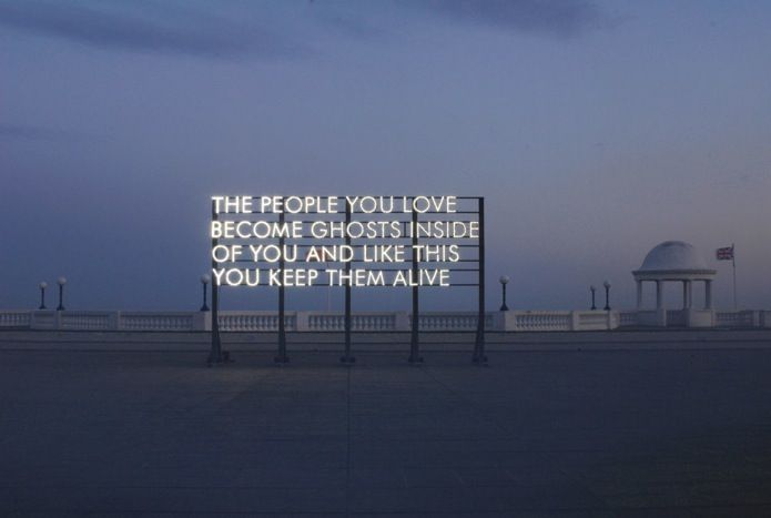Typographic Installations as Solar Powered Poetry