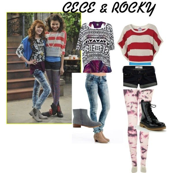 "polyvore colthes shake it up | CECE shake it up"" by selenagomez999 on ... 
