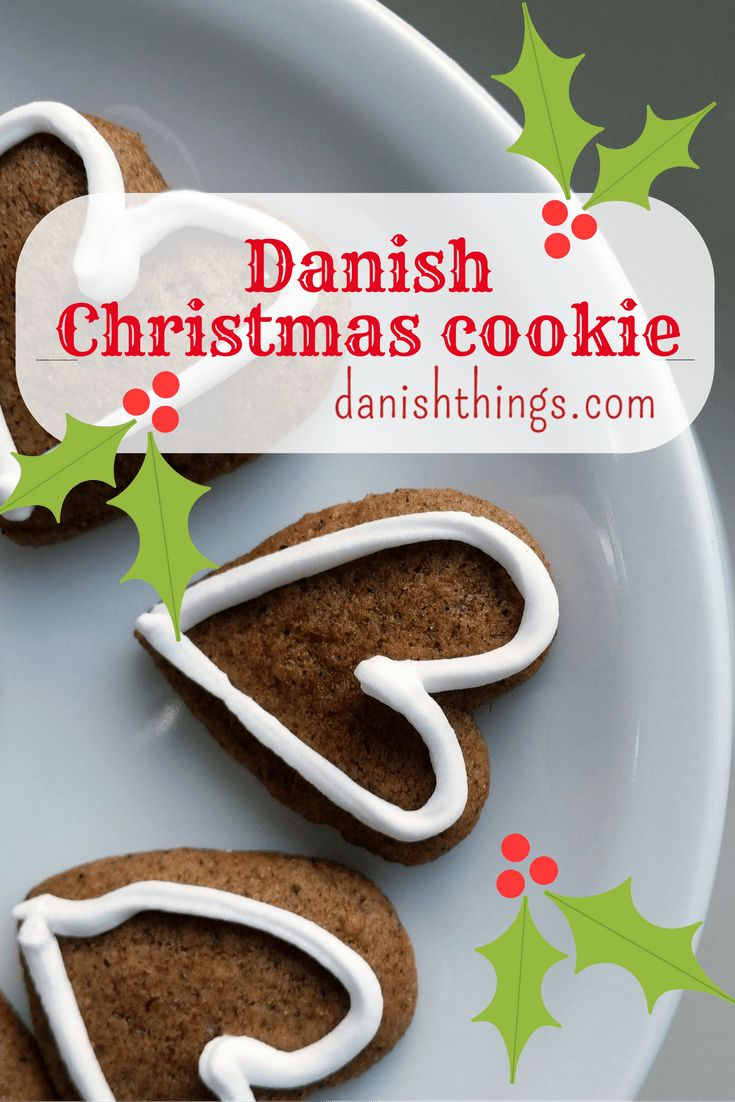 Danish Christmas cookie - honey cookie © danishthings.com