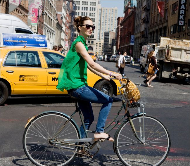 new york by bicycle