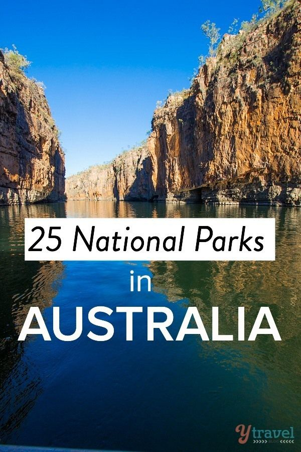 25 National Parks in Australia to set foot in