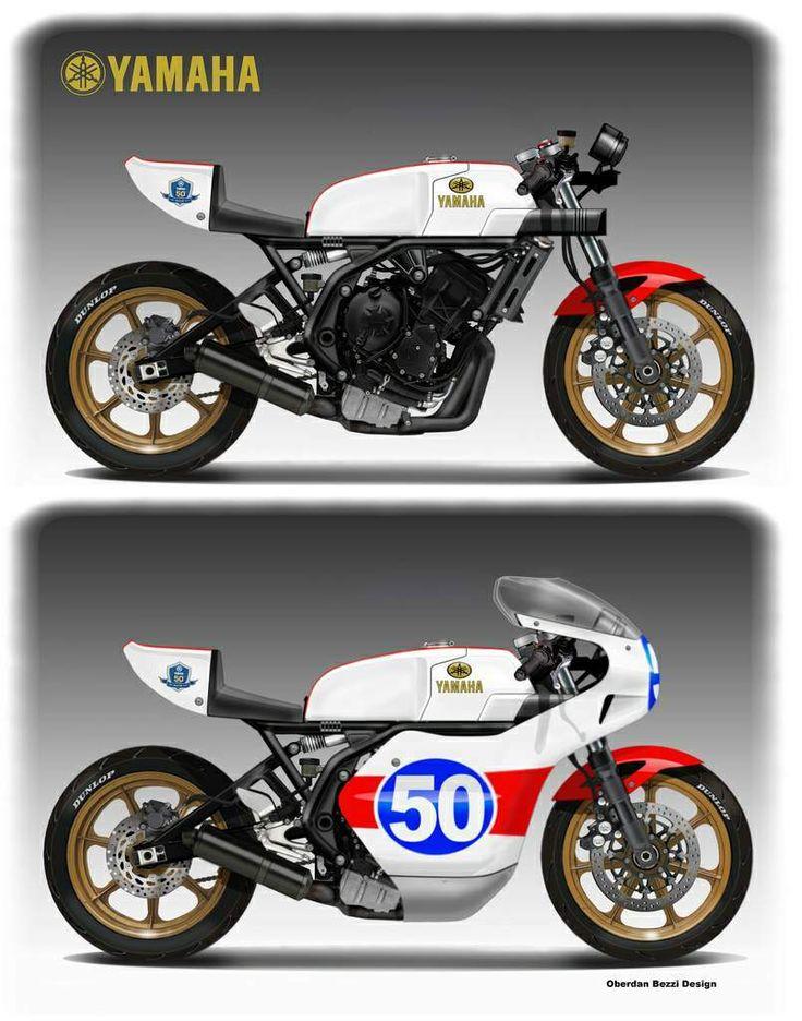 Yamaha TZ6 Classic Racer Concept