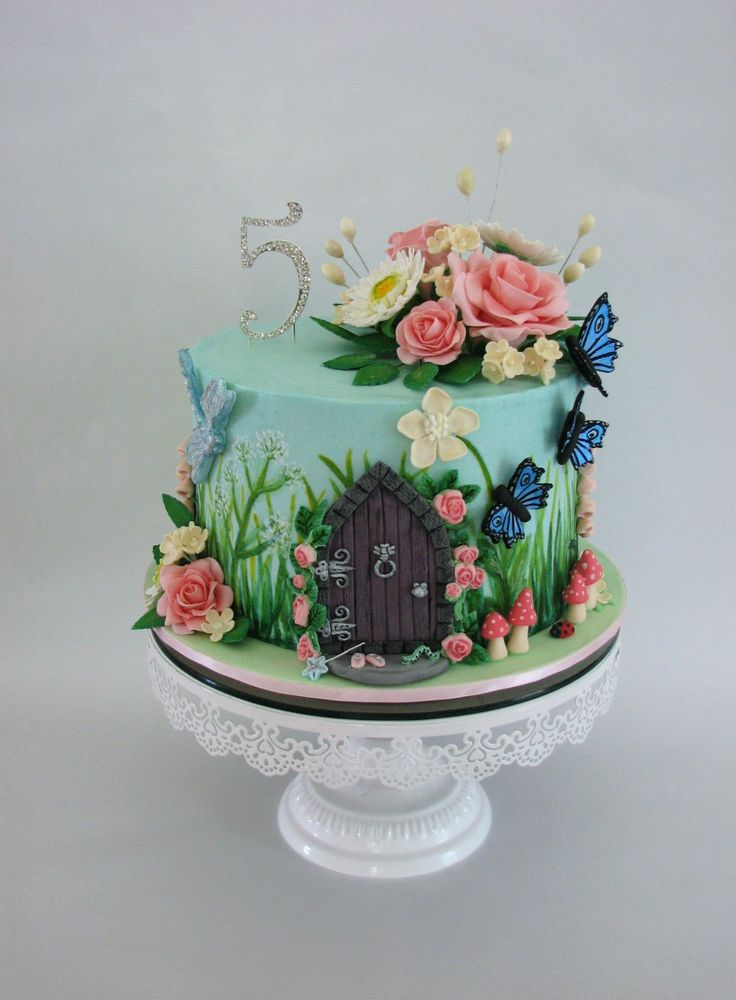 Garden Decoration For Cake : Best 25+ Enchanted forest cake ideas on Pinterest ...